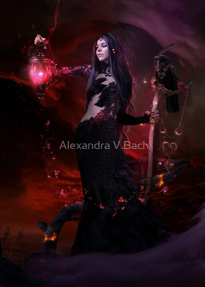 The Witches Coven Chamanka by Alexandra V.Bach