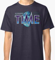 Camiseta clásica Ilusión del tiempo (pantalla de título SNES)