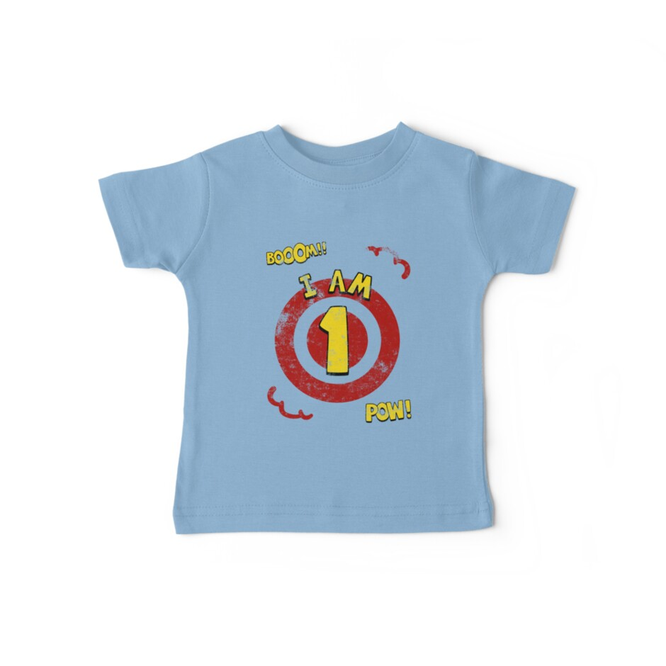 Action hero 1st Birthday Party by superpartytees