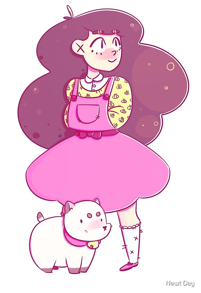 Bee and Puppycat by Doodle Joy