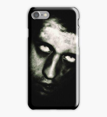 Male Zombie Portrait by Amanda Norman iPhone Case/Skin