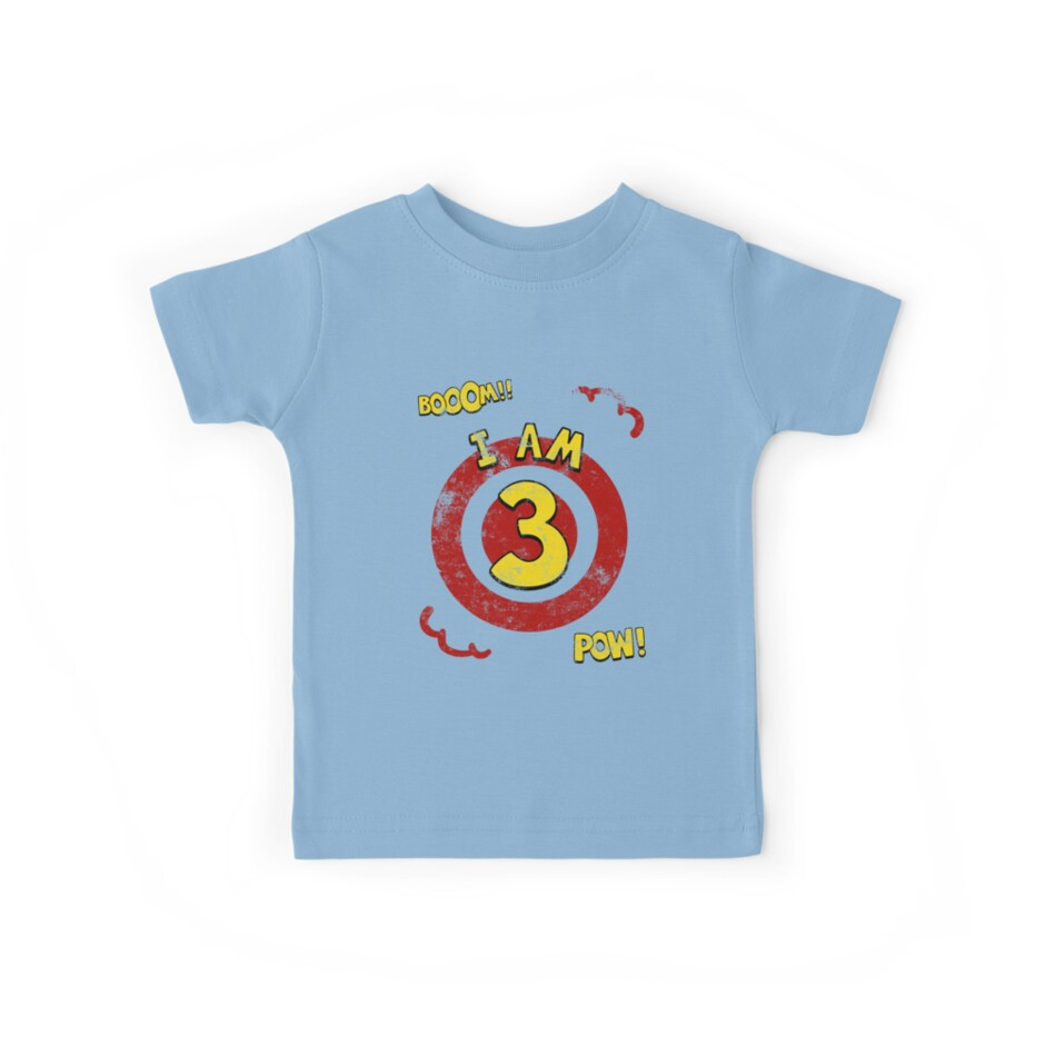 Action hero 3rd Birthday Party by superpartytees