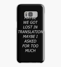 Lost in Translation Invert Samsung Galaxy Case/Skin