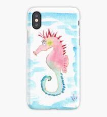 Seepferdchen Punk iPhone Case/Skin
