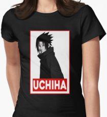 Sasuke Uchiha Womens Fitted T-Shirt
