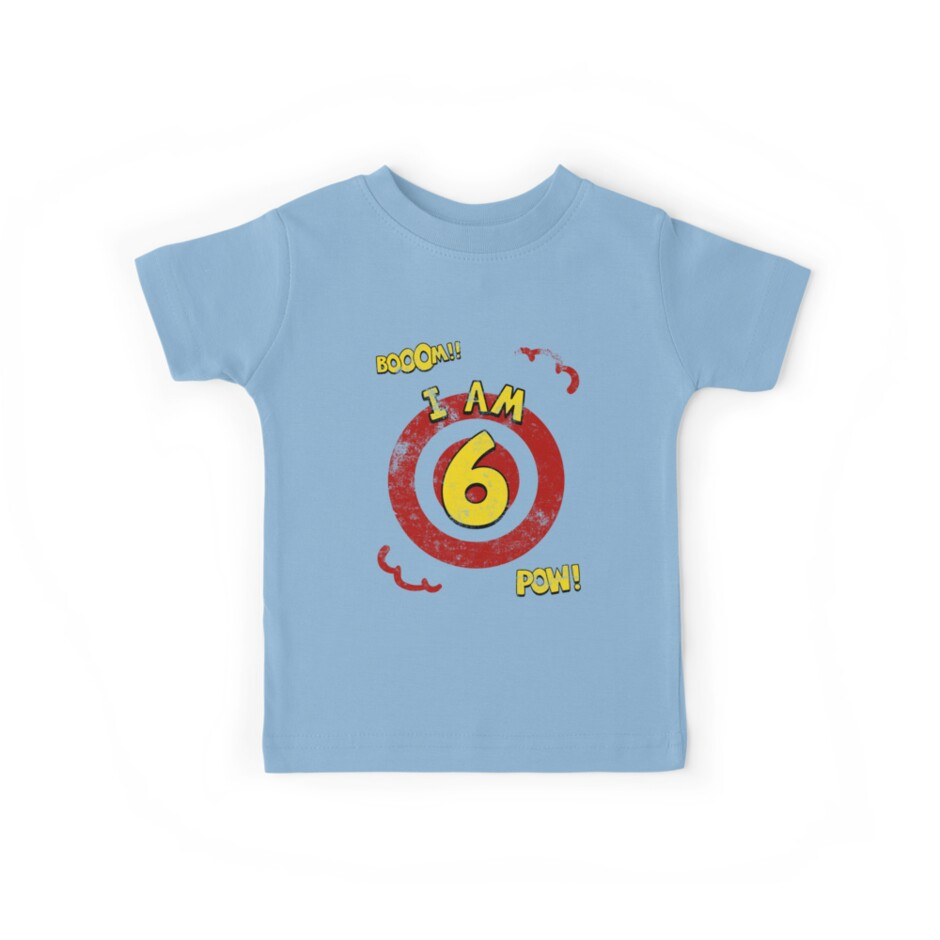 Action hero 6th Birthday Party by superpartytees