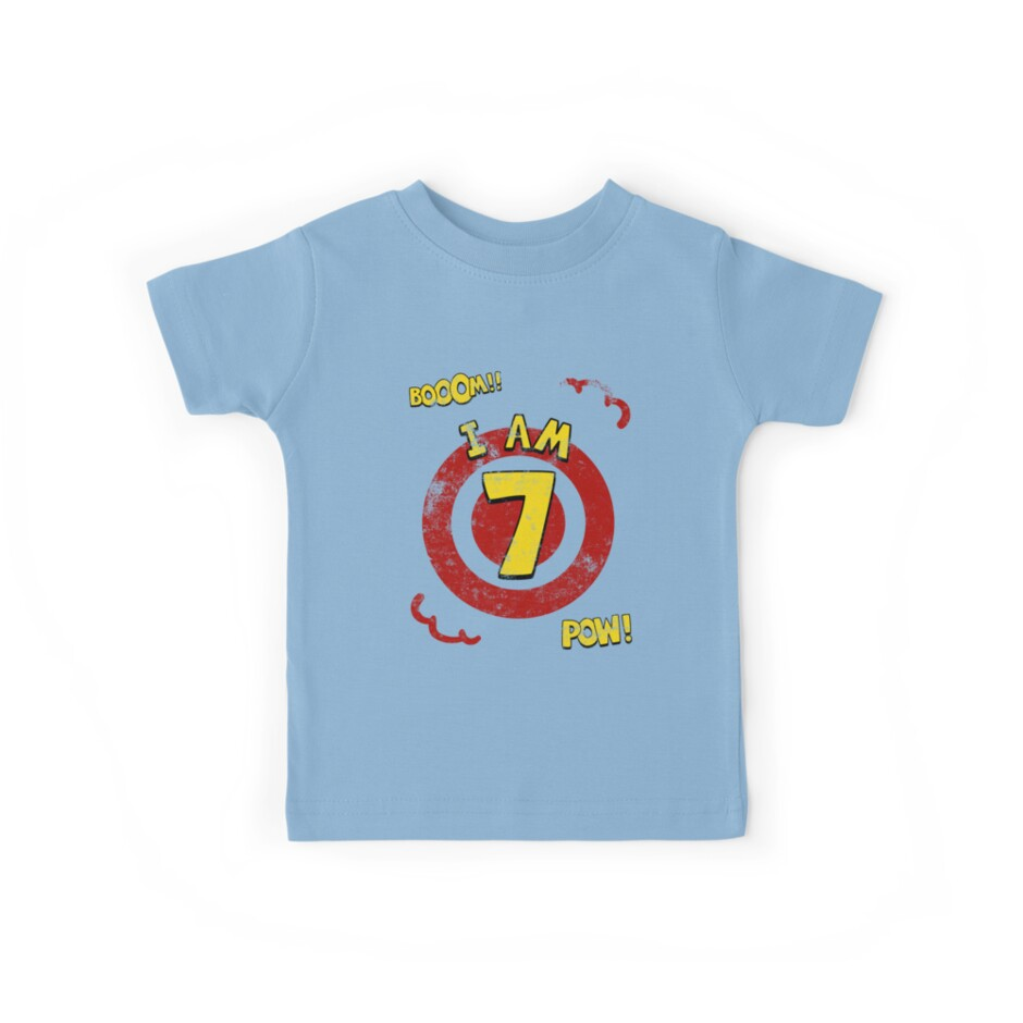 Action hero 7th Birthday Party by superpartytees