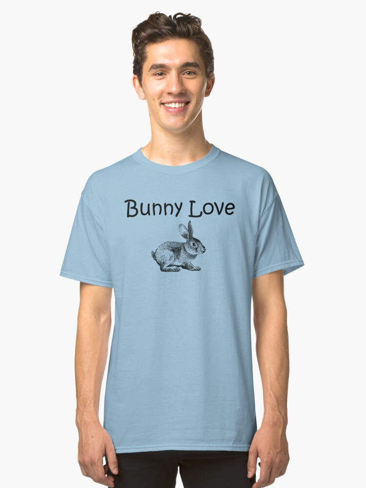 Bunny Love Classic T-Shirt Front