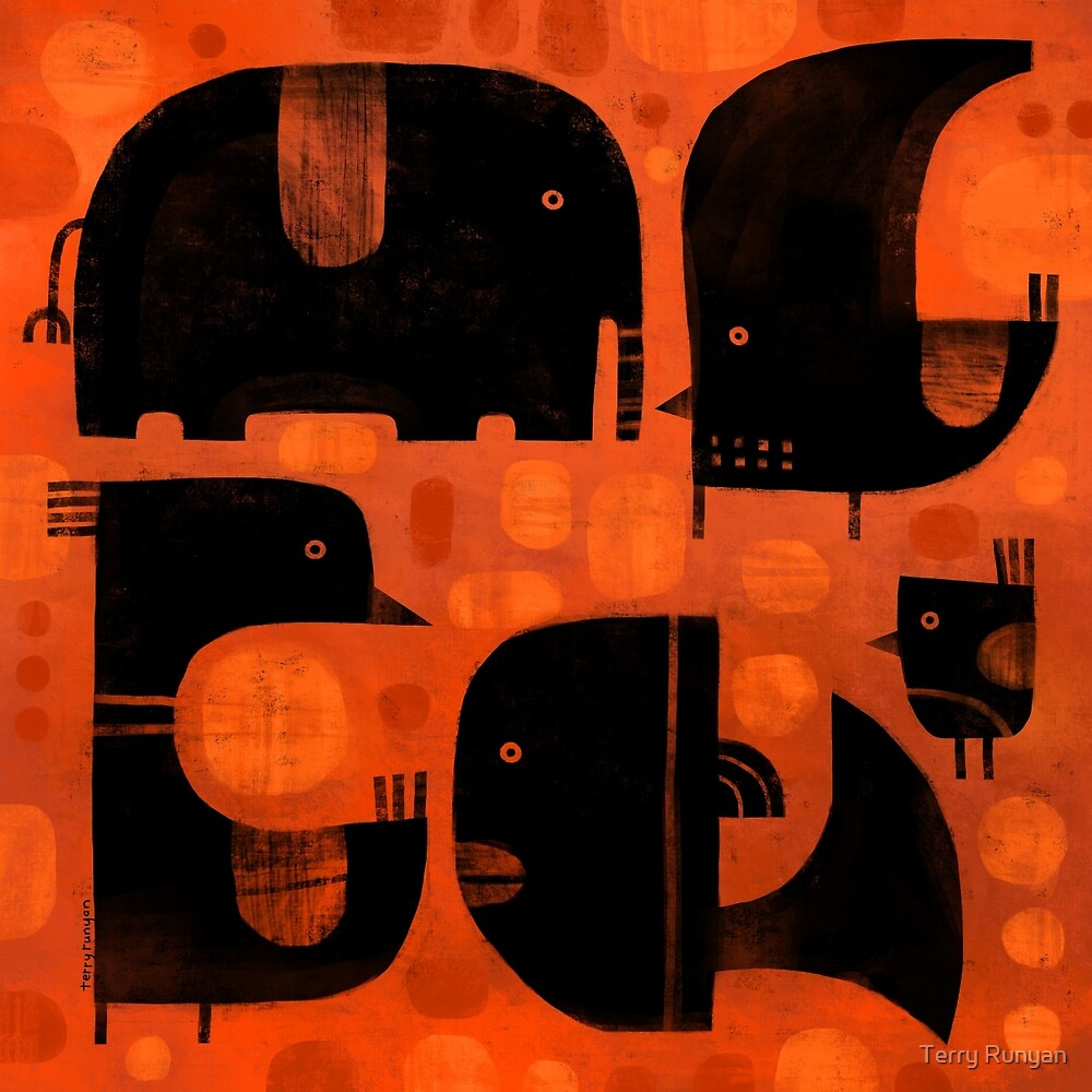 ANIMAL SHAPES by Terry Runyan