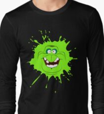 Cartoon style slimer (Ghostbusters) Long Sleeve T-Shirt