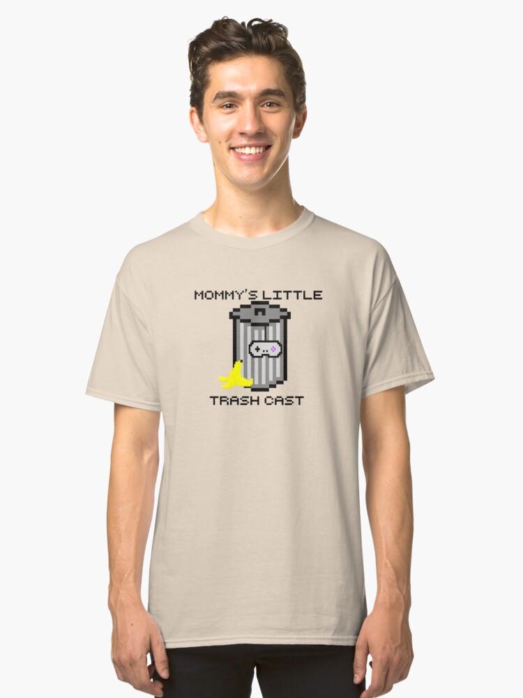 Mommy's Little Trash Cast Logo Classic T-Shirt Front