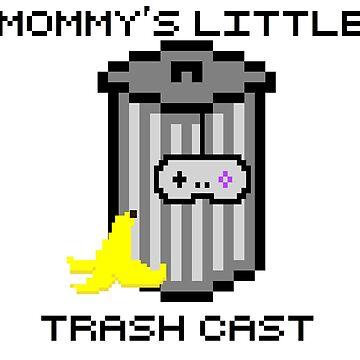 Mommy's Little Trash Cast Logo by daysofyorr