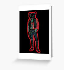Catsolo Greeting Card