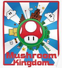 Mushroom Kingdom Poster