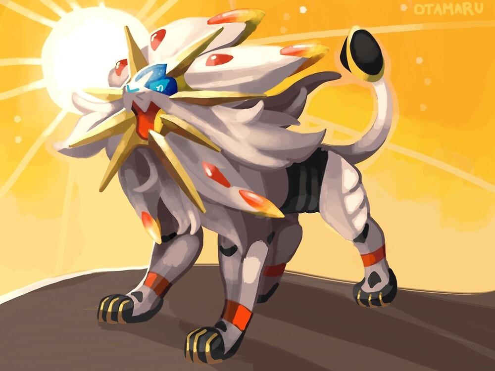 Pokémon - Solgaleo by otamaru