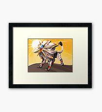 Pokémon - Solgaleo Framed Print