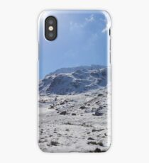 Snow Gleaming on Mountains iPhone Case/Skin