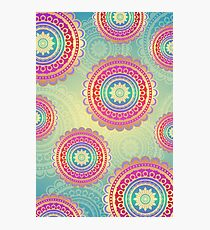 Beautiful abstract modern pattern design Photographic Print