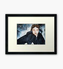 Hans Gruber Framed Print