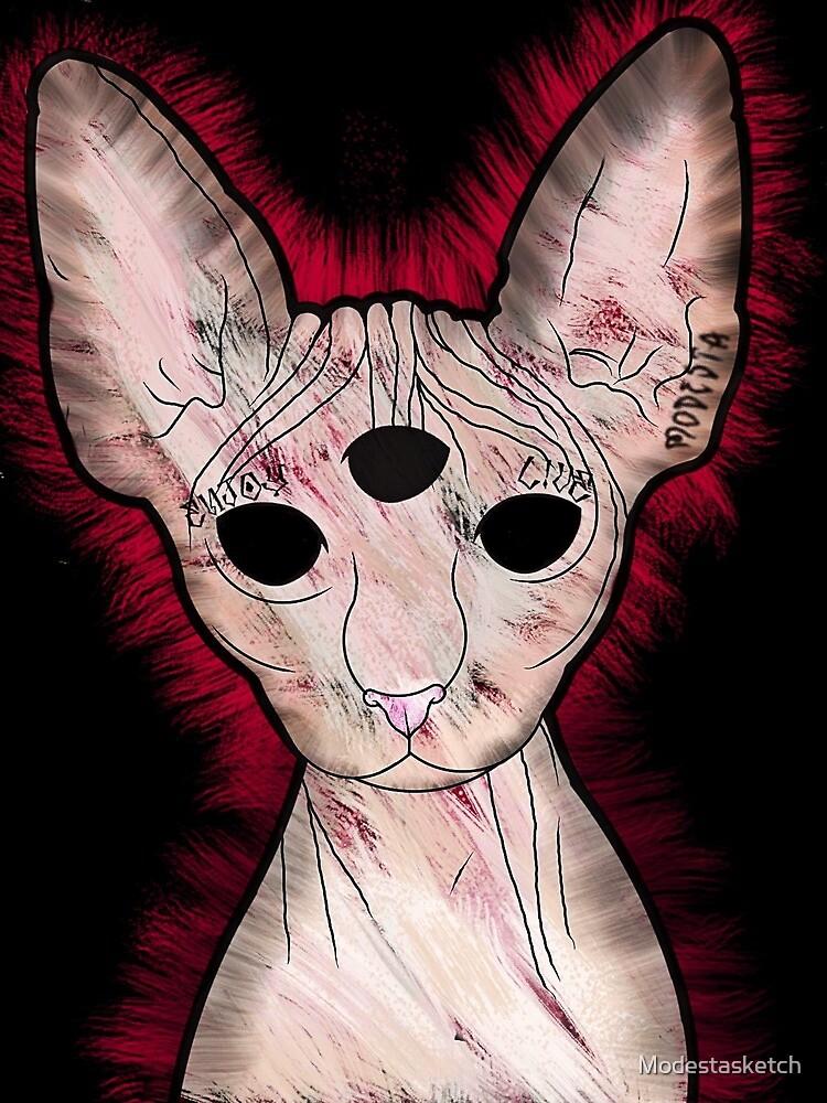 Meow by Modestasketch