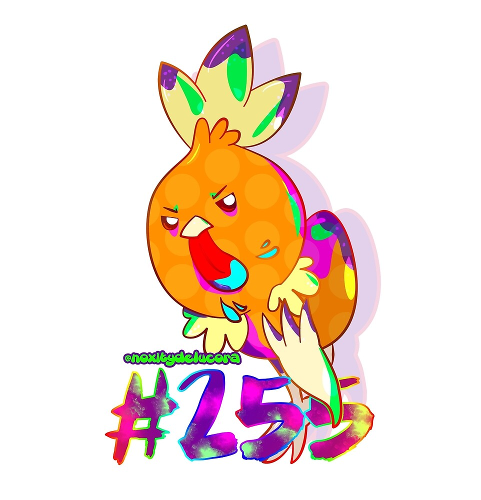 Year of the Rooster Torchic by noxity