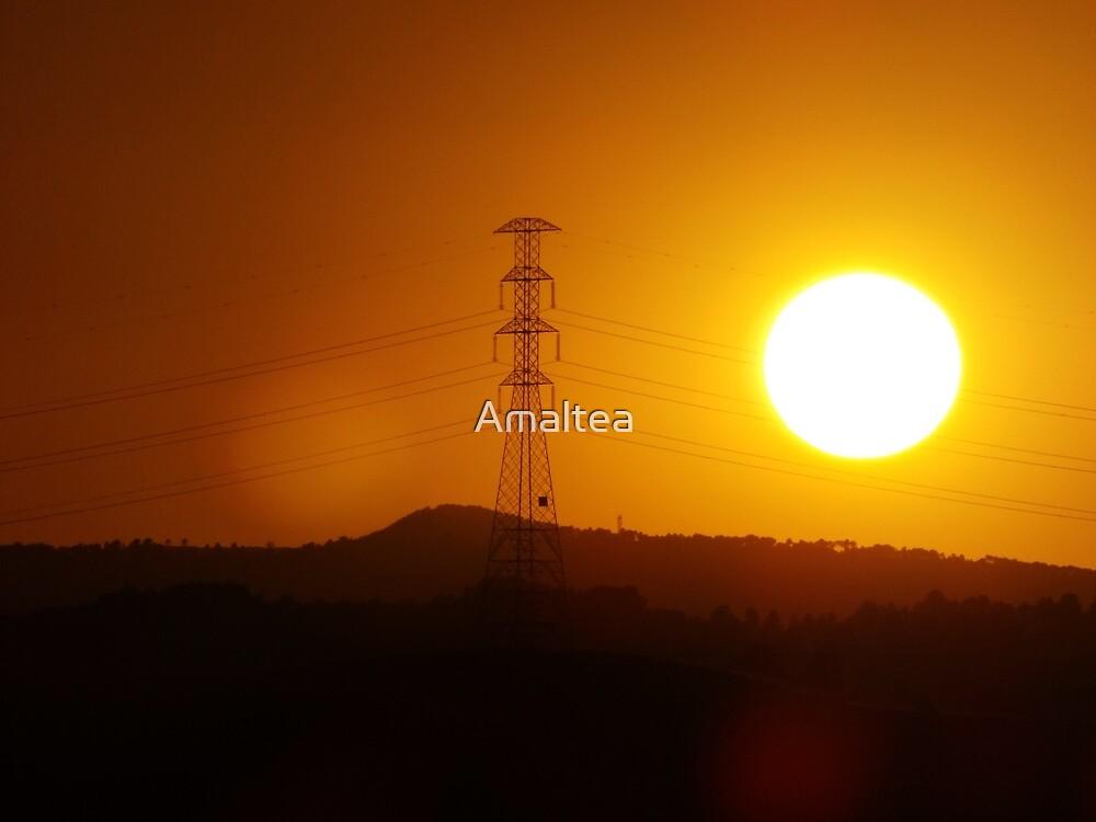 Naturaleza invavida por humanos by Amaltea