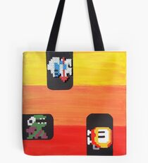 Dig Dug (Paint 'N' Beads) Tote Bag