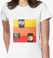 Dig Dug (Paint 'N' Beads) Women's Fitted T-Shirt