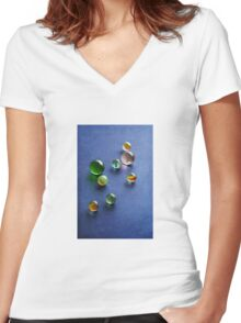 Childhood Jewels Women's Fitted V-Neck T-Shirt