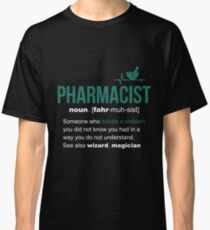 Pharmacist Definition Funny Gift Classic T-Shirt