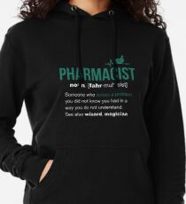 Pharmacist Definition Funny Gift Lightweight Hoodie
