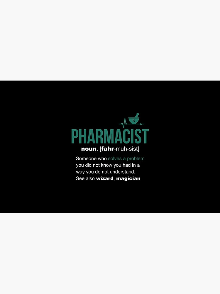 Pharmacist Definition Funny Gift by LazyGreyBear