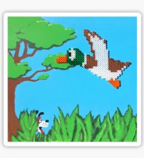 Duck Hunt Brown (Paint 'N' Beads) Sticker