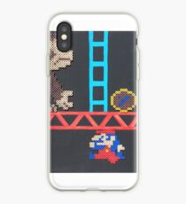 Donkey Kong & Jumpman (Paint 'N' Beads) iPhone Case