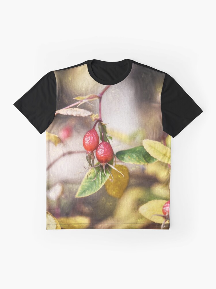 Alternate view of Rose Hips Graphic T-Shirt