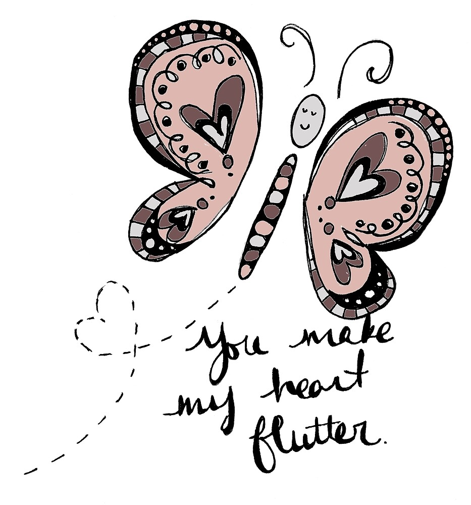 You Make My Heart Flutter by Laura Maxwell