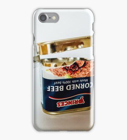 Empty Tin Of Corned Beef iPhone Case/Skin