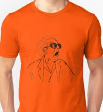 Back To The Future Doc Emmett Brown Sketch T-Shirt