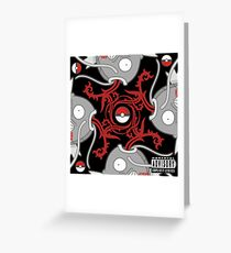Blood Sugar Sex Magikarp - Black Greeting Card