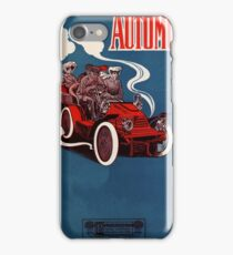 Antique 1905 automobile music sheet cover iPhone Case/Skin
