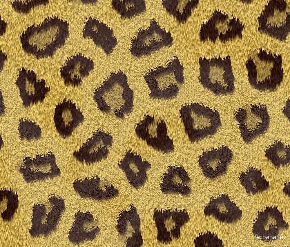 Leopard Print by fatbanana