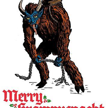 Merry Krampusnacht by mongreldesigns
