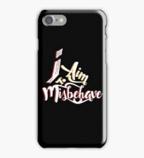 Firefly - I aim to misbehave - Malcolm Reynolds - Serenity iPhone Case/Skin