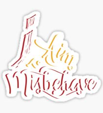 Firefly - I aim to misbehave - Malcolm Reynolds - Serenity Sticker