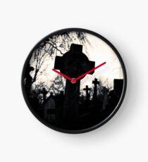 Cemetery Cross by Amanda Norman Clock