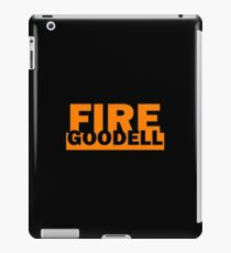Fire Goodell Pats Funny Roger Hilarious Cute iPad Case/Skin