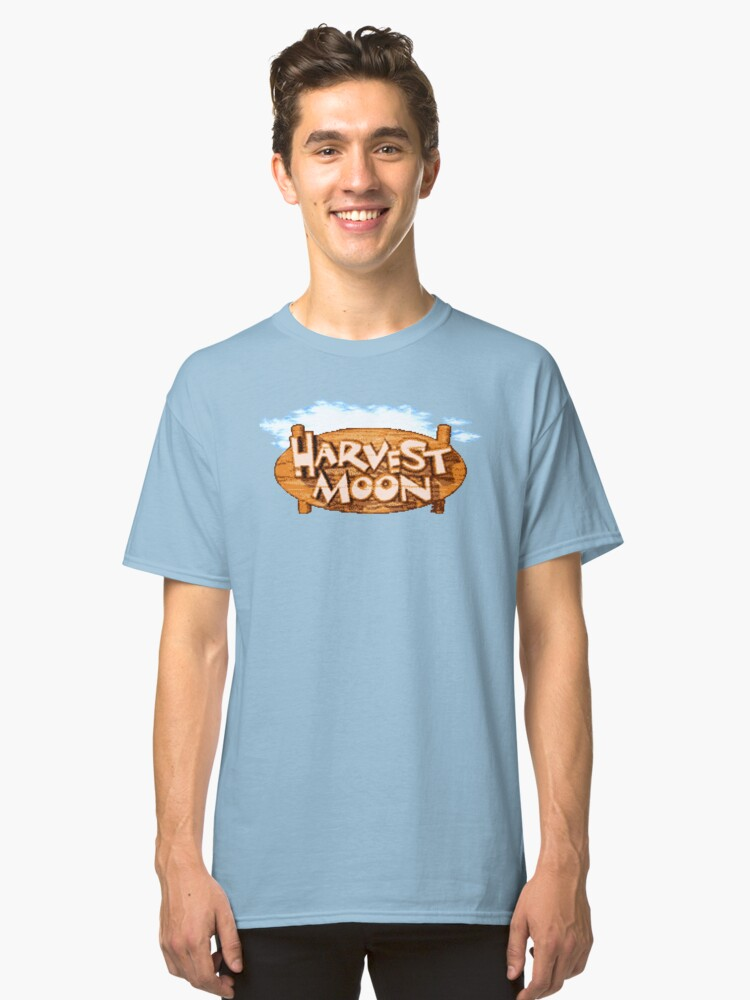 Harvest Moon (SNES Title Screen) Classic T-Shirt Front