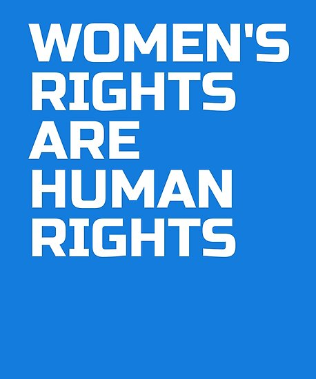 Quot Women S Rights Are Human Rights Womens March Quot Poster By