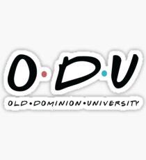 ODU Sticker
