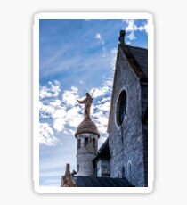 Mont Sainte Odile abbey infrared view, Alsace, France Sticker